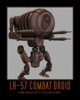 Star Wars The Clone Wars Retail Droid by Onikage108
