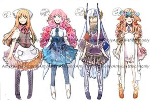 Adoptable Batch 3 [Open] by Amika-theonenonly