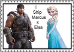 Marcus fenix and Elsa Stamp by Carriejokerbates