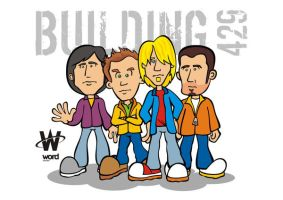 Building 429 cartoon art by GossiDesign