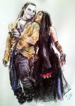 The Graverobber and Shilo by Arwen111