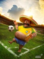 Un Mariachi - World Cup Brazil 2014 by Catetas
