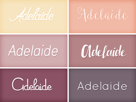 Fonts 001. by Classy-Annie