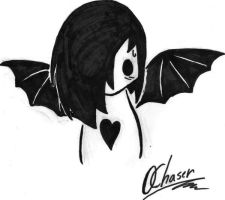 Emo Chibi by 0Chaser