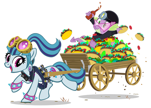 Taco Tuesday Tactical Team by PixelKitties