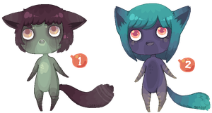 Pixel Anthros 4 - [CLOSED!] by Sergle