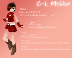 C-L Meiko MMD + Download by Calculated-Lie
