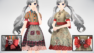 MMD AMR DollDress DL by yokkaulove
