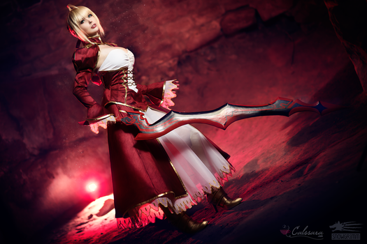 Saber Nero - Fate/Extra II by Calssara