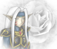 White Rose Knight by Luifex
