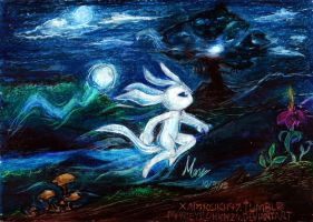 Ori and the Blind Forest by MarieyeohKH24