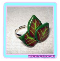 leaf ring by cuca-factory