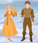 Disney's Kai and Gerda (Second Design Makeover) by Hillygon