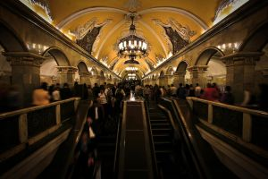 Moscow metro III by gluteusmaximus