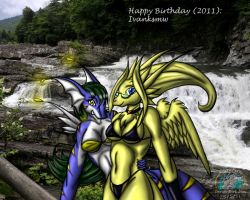 Happy Birthday 2011: Ivanksmw by Snowfyre