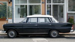 Mercedes Benz-190C-2 by bhorwat