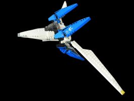 Lego Arwing 2 by archus7