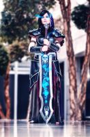 Human Death Knight (Artwork) (World of Warcraft) by Horitsu