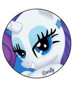 Rarity Pin by BrittanysDesigns