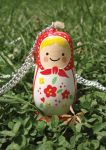 Babushka Baby Necklace by Jykle-and-Hyde