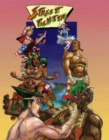 Street Fighter I Arcade Art 1 by TheAmericanDream