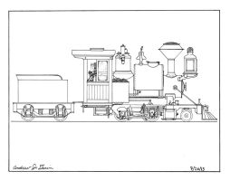 7.5 inch Gauge Live Steam Locomotive by gunslinger87