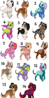 free puppy adopts .closed. by Odscene