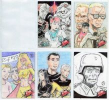 Alterna Originals Sketch Cards by JasonShoemaker