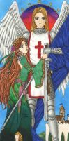 Her Guardian Angel by AyaneShinobi