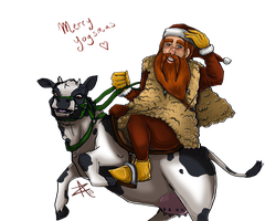 Moo-y Yogsmas friends! by Zanith