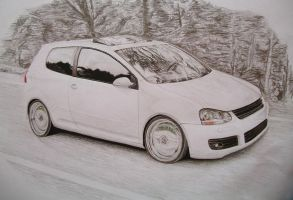 Volkswagen Golf by Millo97