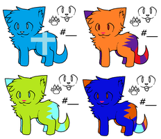 Cute Cat Adopts!!!!! by fooo4
