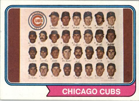 1973 Chicago Cubs 5 by danwind