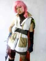 Lightning cosplay by Nome-chan