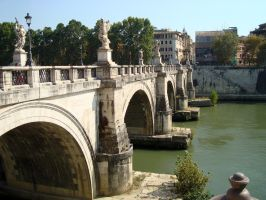 Ponte Sant'Angelo by rosye