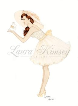 Holiday Pinup: Spring is Here by laurakimseydesigns