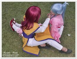 Kurama x Botan Cosplay by paganprincess-aeris