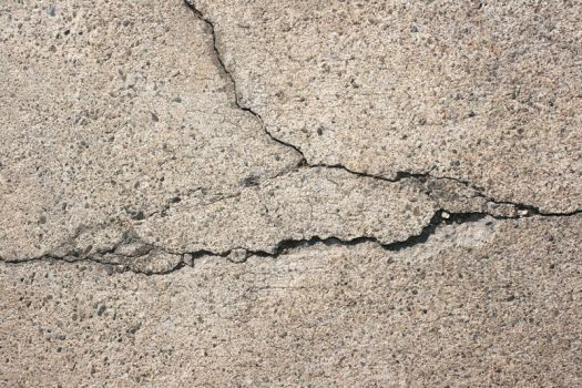 Rough Cracked Concrete by texturejunky