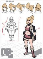 Annie: Design Sheet by Razputin93