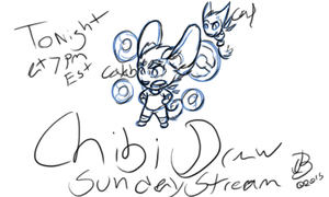 Sunday Live stream Chibi tonight at 7pm ENDED by JLindseyB