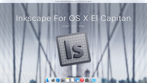 Inkscape Icon For El Capitan by JasonZigrino