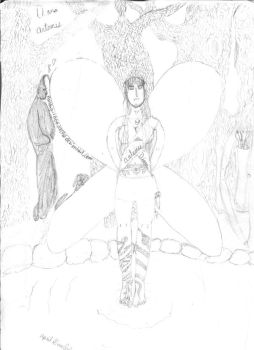 Artemis in the forest by pandagirl6662003