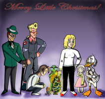 Little X-Mas gift 4 my friends by Ghostbusterlover