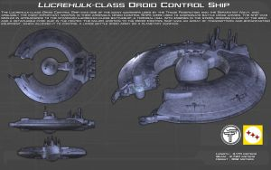 Lucrehulk Droid Control Ship ortho [New] by unusualsuspex