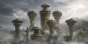 Lost Temple Concept by Dlestudio