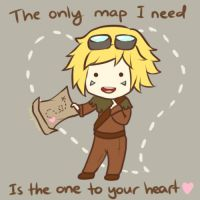 Ezreal - LoL Valentines Card by Cherrycake4