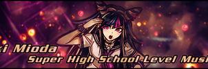 Ibuki Mioda Signature Banner! by Mordecai-Fan