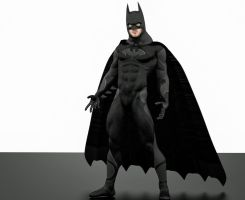Batman new 2nd skin textures for M4 by hiram67