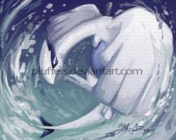 Lugia by Pluffers