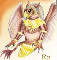 Ra Was a Gryphon -Finis by Virangelus